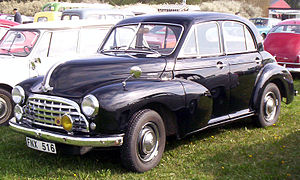 Morris Oxford MO - Image: Morris Oxford 4 Door Saloon 1950