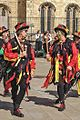 Morris dancers, York (25993967504).jpg