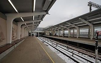 Studencheskaya (Moscow Metro) - Image: Mos Metro Studencheskaya asv 2018 01