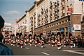 Moscow, 1997. Pipers at the parade.jpg