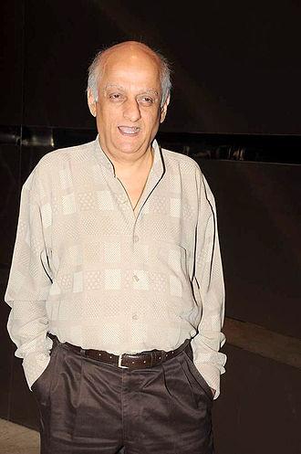 Mukesh Bhatt - Bhatt at the launch of T P Aggarwal's trade magazine 'Blockbuster'