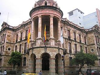 Cuenca, Ecuador - Cuenca City Hall in Bolívar Street