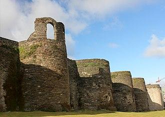 Roman walls of Lugo - Image: Muralla de Lugo 03