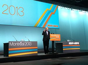 Murray Rankin - Murray Rankin Speaks at 2013 NDP Convention in Montreal (April 13, 2013)