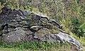 Muscovite schist (Appalachian Gap, Green Mountains, Vermont, USA) 7.jpg