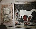 Museo di sant'ambrogio, frammento di opus sectile del IV sec 02.JPG
