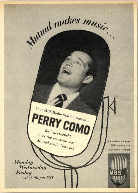 Mutual Broadcasting System - Perry Como 1954a
