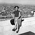 Női portré, 1954.. Fortepan 6256.jpg