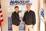NAVSUP Commander Greets CNO at NAVSUP 161013-D-FV109-051.jpg