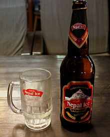 NEPAL ICE STRONG BEER POKHARA NEPAL FEB 2013 (8510730421).jpg