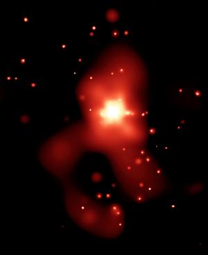 NGC 4261 - Image: NGC 4261 X ray