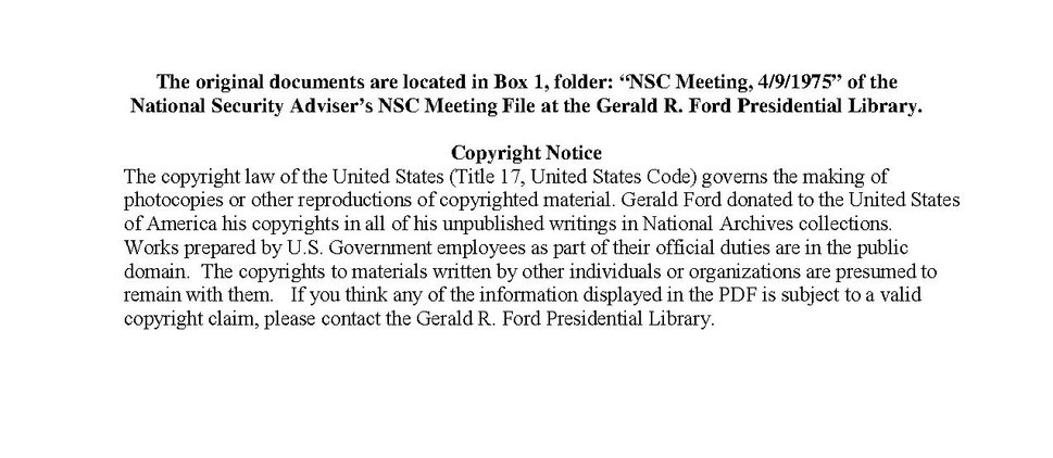 NSC Meeting, April 9, 1975 (topic- Vietnam, Cambodia)(Gerald Ford Library)(1552383).pdf
