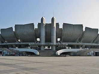 Nagano, Nagano - Nagano Olympic Stadium, present day of Nagano Baseball Stadium