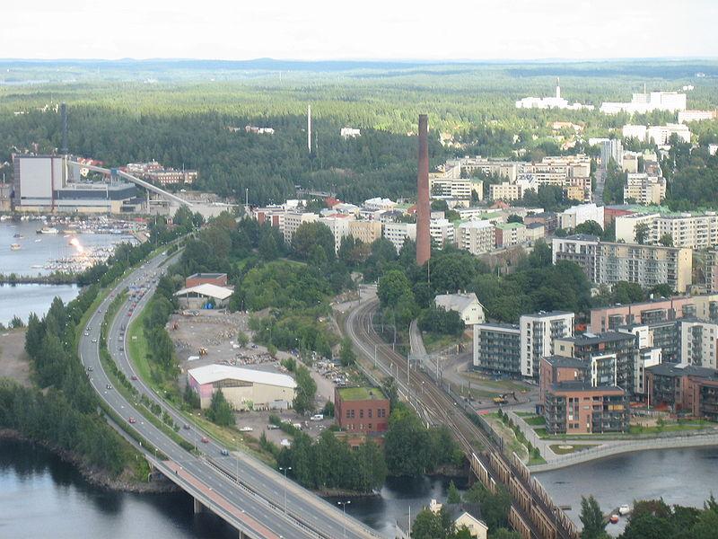 Linkki: Eniron kopterikuvat Tampere