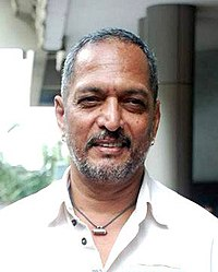 Nana Patekar is posing for the camera