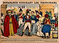 Napoleon Bonaparte touching the bubo of a plague victim at J Wellcome V0010634.jpg