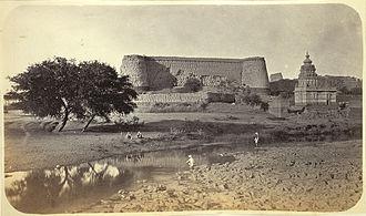 Berar Province - Narnala Fort in Berar, 1860.