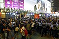 Nathan Road Police force protesters to South 20141017.jpg