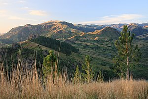 Nausori Highlands on Viti Levu, Fiji