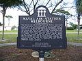Naval Air Station Melbourne Historical Marker 1.jpg