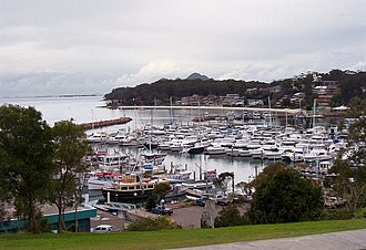 Port Stephens Council - Nelson Bay, a suburb of Port Stephens
