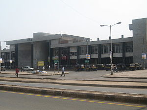 Image:Nerul Railway Station West Side View.