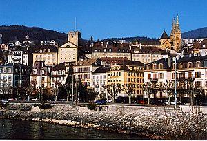Neuchâtel - Neuchâtel in 2001