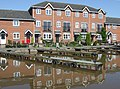 New housing and moorings, Market Drayton, Shropshire - geograph.org.uk - 1592391.jpg