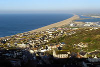 Newgrounds viewpoint chesil beach and fortuneswell dorset.jpg