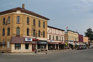 Wilmot, Ontario - Peel Street in New Hamburg