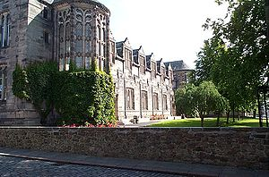 King's College, Aberdeen - New Building, King's College