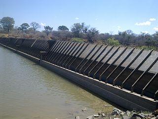 Ngondoma Dam Dam in Empress Mine, Kwekwe District, Zimbabwe