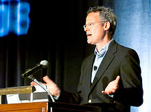 Nicholas Carr at the Telecosm Conference in 2008 crop.jpg