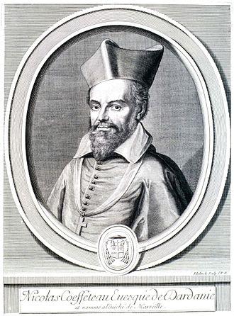 Nicolas Coeffeteau - Nicolas Coeffeteau. Engraving by Gerard Edelinck.