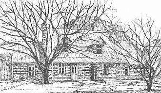 Nicolaus Zink - Nicolaus Zink House, Welfare, Texas