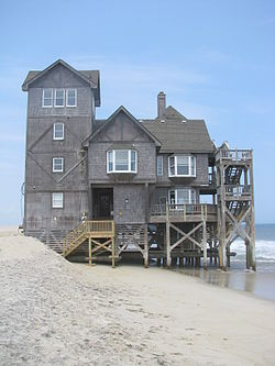 Nights in Rodanthe house south side 2009.jpg