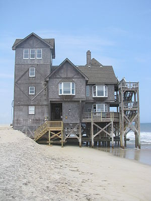 Rodanthe, North Carolina - The rental house, Serendipity, used in filming Nights in Rodanthe