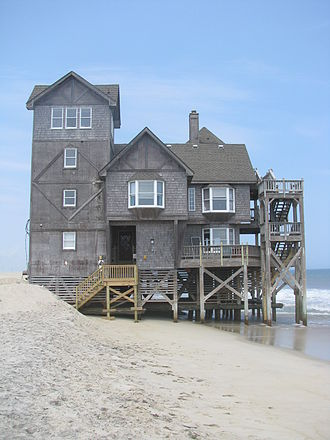 Nights in Rodanthe - The house in Rodanthe, North Carolina used in the movie.