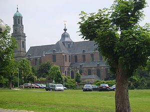 Ninove - The Abbey church of Ninove
