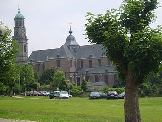 Ninove - The Abbey church of Ninove