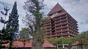 University of Indonesia - The University of Indonesia rectorate building