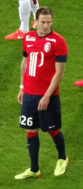 Nolan Roux - Roux playing for Lille