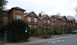 "Nordwolle - Former ""Beamtenhäuser"" (homes of officials)"