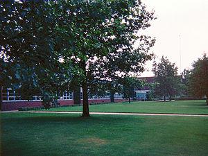 North Allegheny Intermediate High School - Image: North Allegheny Intermediate High School 1977