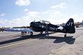 North American SNJ-4 Texan VMF-231 LSideRear TICO 13March2010 (14597553524).jpg