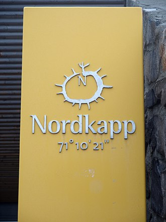 North Cape (Norway) - Nordkapp latitude