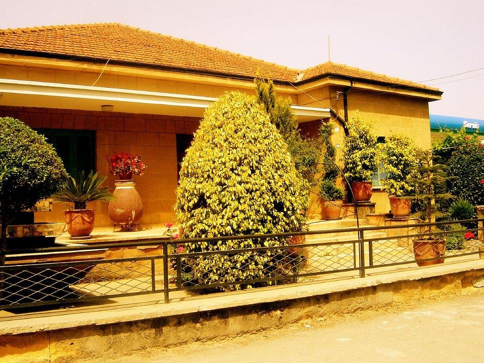 North Nicosia classical 1950s house Koskluciftlik