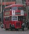 Northampton Corporation bus Daimler CVG6 Roe, Northampton, route 14, 24 April 1972.jpg