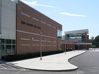 Brien McMahon High School - Entrance