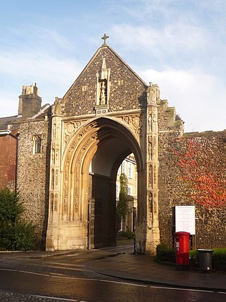 Norwich Cathedral - Erpingham Gate